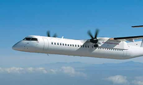 A Dash-8 similar to the plane that has crashed in Papua New Guinea, killing 28 people