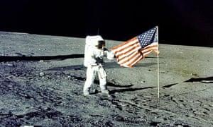 Apollo moon landings