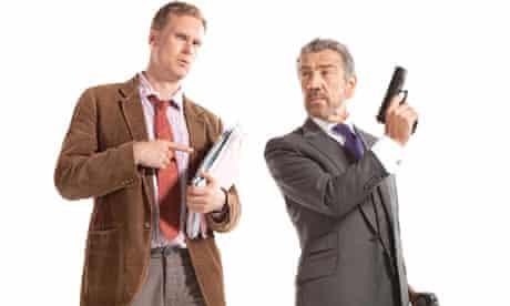 Darren Boyd and Robert Lindsay in Sky1 comedy Spy