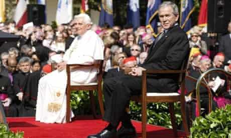 Pope Benedict Visits the White House, Washington D.C, America - 16 Apr 2008