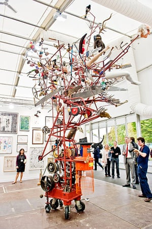 Frieze recommendations: Machine that Eats Credit Cards and Produces Art