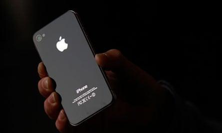 An iPhone 4S