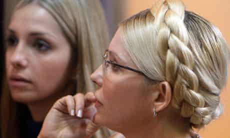 Yulia Tymoshenko and Yevhenia Carr
