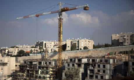 Settlement building at Gilo, east Jerusalem