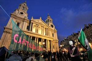 Occupy London Protests: City protesters settle in for a second night at St Paul's Cathedral