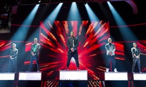 The X Factor Live on ITV1,
