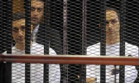 Mubarak's sons