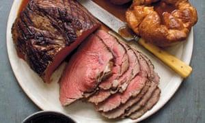 Ultra-slow roast rump beef