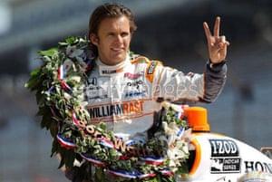 Dan Wheldon Retrospective: Dan Wheldon during the 95th Indianapolis 500 Mile Race Trophy Presentation