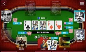 Zynga Poker for iPhone