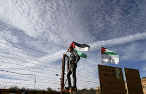 gilad shalit release: A Palestinian man waits at the Beituniya checkpoint near Ramallah