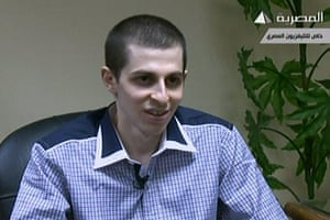Shalit release: Israeli soldier Gilad Shalit speaking during an interview
