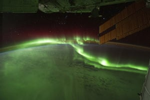 "Month in space:  aurora australis, or ""southern lights,"""