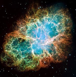 Month in space: The Crab Nebula is a supernova remnant