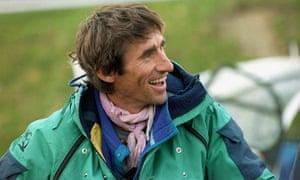Mountain-guide Erhard Loretan