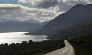 A remote location in Scotland