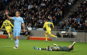 Tuesday Champions League: Cani scores against Manchester City after only 4 minutes