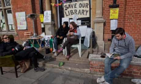 Campaigners to save Kensal Rise library mount a round-the-clock vigil