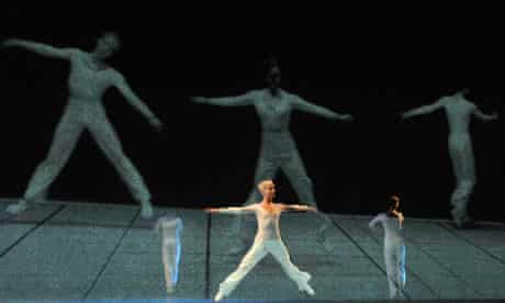Lucinda Childs Dance Company performing at The Barbican Theatre
