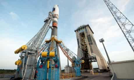 Soyuz rocket ready for launch