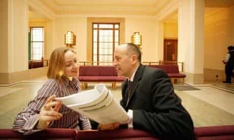Jules Pipe, mayor of Hackney, with former deputy Jessica Crowe.