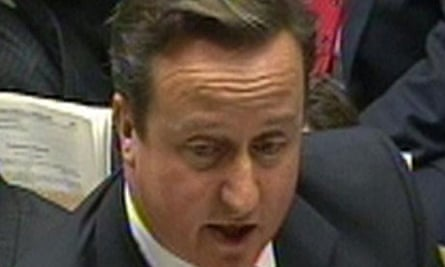 David Cameron said the focus should be on helping the eurozone to recover from its crisis