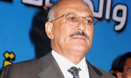 The Yemeni president, Ali Abdullah Saleh, is facing down widespread opposition to his 33-year-rule