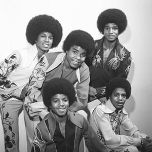 Harry Goodwin pop photos: The Jackson 5 backstage at BBC Television Centre
