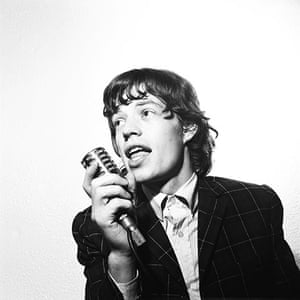Harry Goodwin pop photos: Mick Jagger of The Rolling Stones
