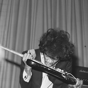 Harry Goodwin pop photos: Jimi Hendrix on stage at the New Century Hall