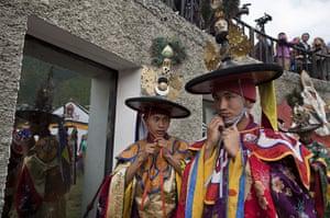 From the agencies: Bhutan Celebrates Royal Wedding