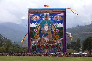 From the agencies: Thangkha painting in Bhutan