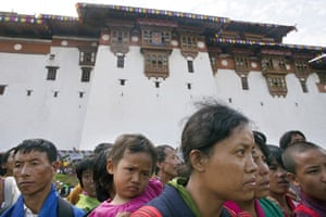 From the agencies: the Dzong in Punakha