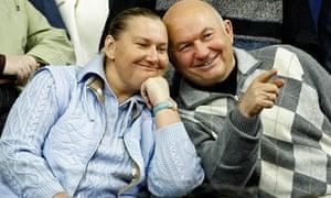 Elena Baturina with her husband Yuri Luzhkov