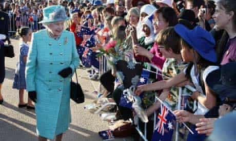 Queen Elizabeth II visits Australia