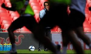 Fabio Capelli training England squad