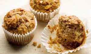 Dan Lepard's honey nut banana muffins recipe