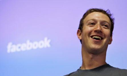 Mark Zuckerberg, Facebook chief executive