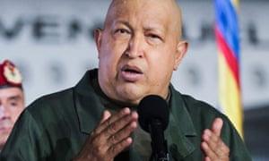 The Venezuelan president Hugo Chavez has undergone treatment for cancer in Cuba