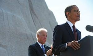 Obama Martin Luther King memorial