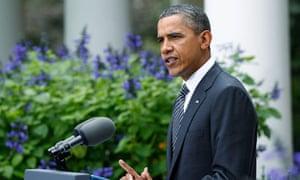 President Barack Obama makes a statement to the media on the death of Libya's former leader Muammar
