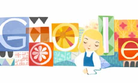 Google doodle Disney
