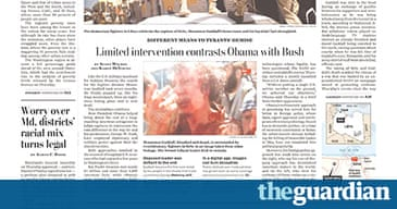 washington post games letter garden gaddafi dead the front pages in pictures media the