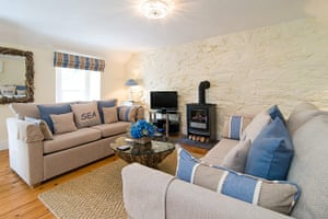 Christmas cottages: Libbys cottgae, Polperro, Cornwall