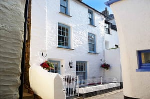 Christmas cottages: Libbys cottage, Polperro