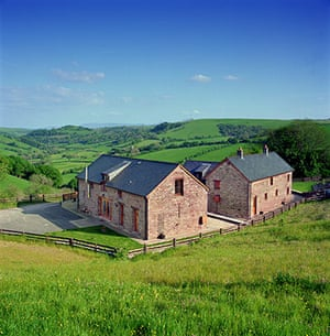 Christmas cottages: Pentwyn Barn, Brecon Beacons