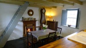 Christmas cottages: Cwm cottage, Pembrokeshire