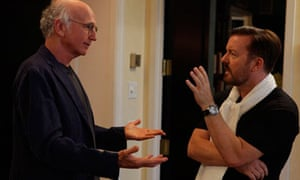 Curb your Enthusiasm: Larry David and Ricky Gervais