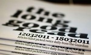 The Long Good Read newspaper version