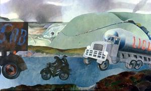 Edward Burra: An English Country Scene II (1970)